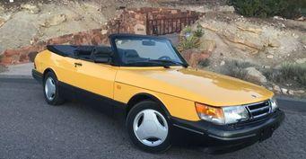 Раритетный Saab 900 SE Turbo Cabrio выставлен на продажу