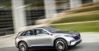 Mercedes-Benz выпустит линейку компактных электрокаров