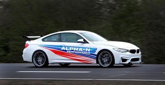 Тюнинговый BMW M4 обошел BMW M4 GTS на Нюрбургринге