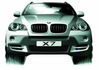 BMW официально подтвердил разработку внедорожника Х7