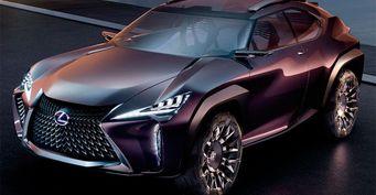 Lexus намерен выпустить новый компактный кроссовер UX