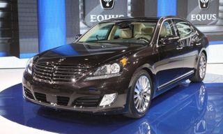 На Московском автосалоне дебютирует удлиненный Hyundai Equus