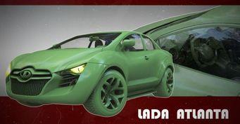 Это машина или утконос? В сети раскритиковали концепт суперкара LADA Atlanta: «Дизайнеру больше не наливать!»